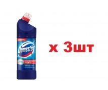 Domestos 1л Максимальная защита Кристальная чистота 3шт