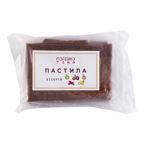 Пастила ассорти (абрикос, алыча, кизил, слива, яблоко), 5 шт. в упаковке
