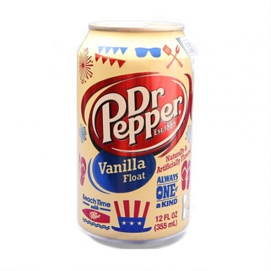 Dr.Pepper ванила  1 баночка   1 «Dr.Pepper» ι США