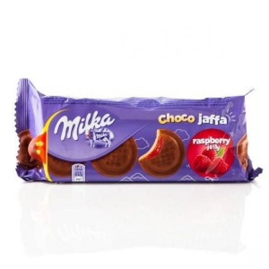 Печенье Милка Джафа с малиновой нач. 147г   1 «MILKA» ι Германия