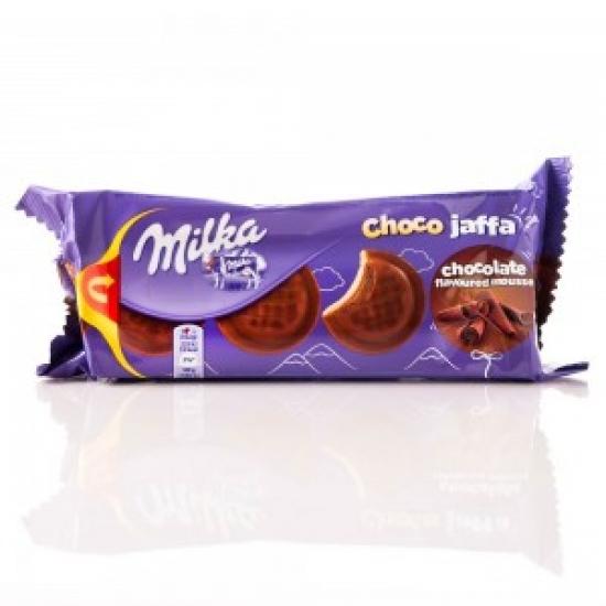Печенье Милка Джафа с шок нач. 128г  1 «MILKA» ι Германия