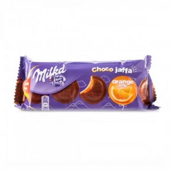 Печенье Милка Джафа с апельсиновой нач. 147г    1 «MILKA» ι Германия