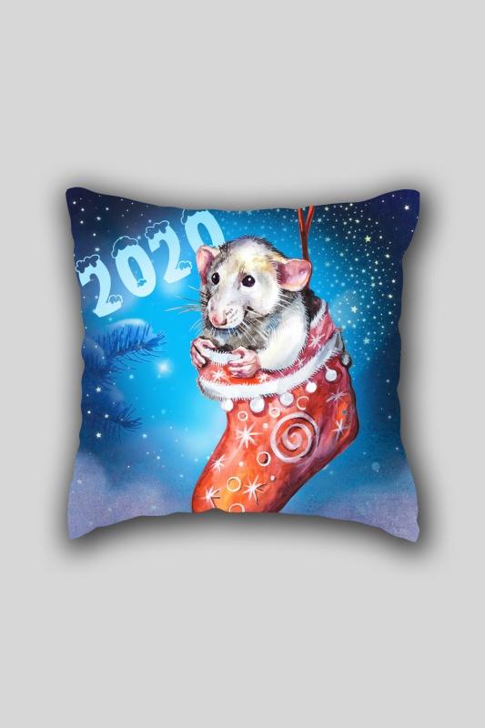 Чехол-наволочка Новогодний подарок