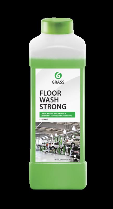 """Средство для мытья пола \""""Floor Wash Strong\"""" (щелочное) 1 кг"""