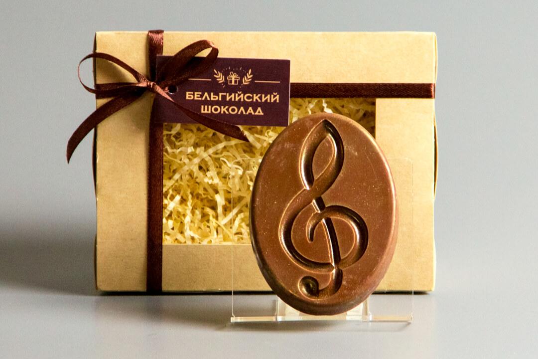 Шоколадная фигурка «Скрипичный ключ»