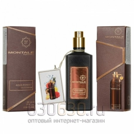 """Мини парфюм Montale """"Aoud Forest"""" 60 ml"""
