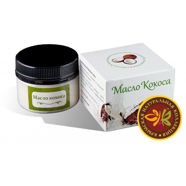 Натуральное кокосовое масло Производитель: Крымская Натуральная Коллекция