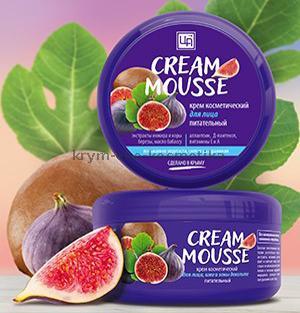 Крем косметический Cream Mousse питательный для лица, шеи и зоны декольте ТМ Царство Ароматов