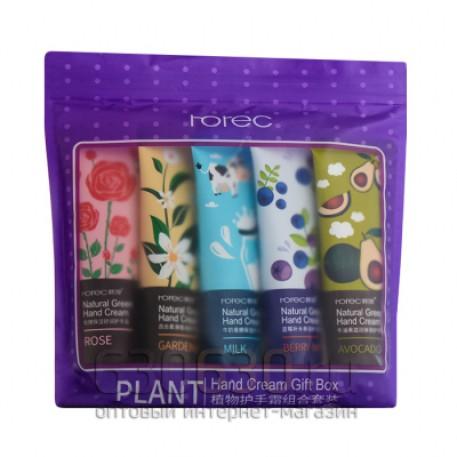 "Набор кремов для рук 5 in 1 Rorec ""Plant Hand Cream Gift Box"" 5 x 30 g"