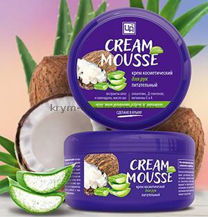 Крем косметический Cream Mousse питательный для рук ТМ Царство Ароматов