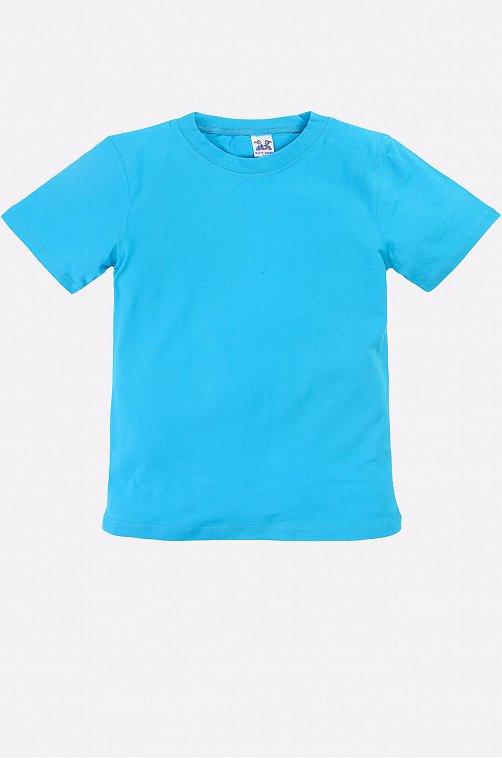 Бирюзовая футболка детская K&R BABY