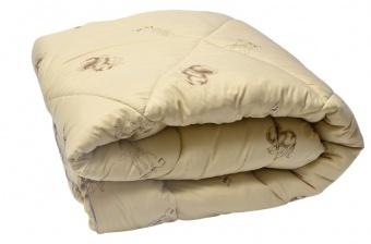 """221 Одеяло Medium Soft """"Стандарт"""" Camel Wool (верблюжья шерсть) 1,5сп"""