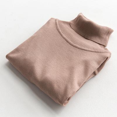 свитер с высоким воротом