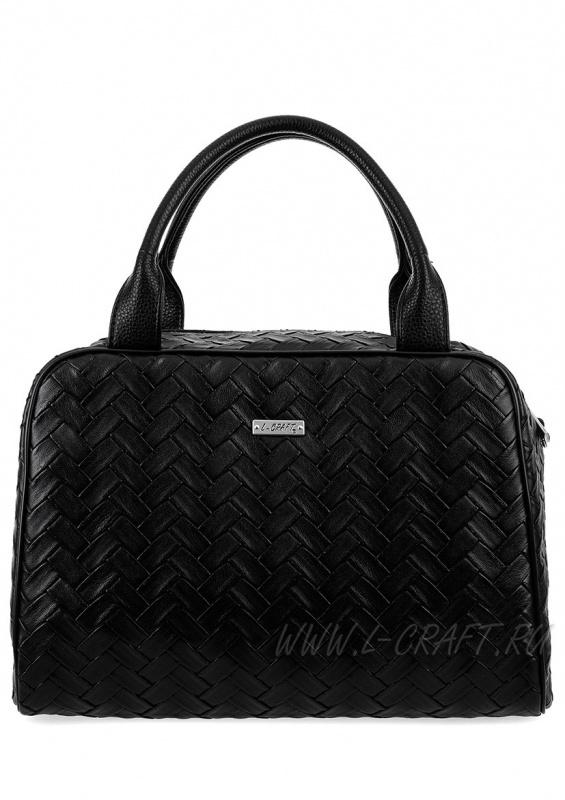 Модель №990 | кожзам | плетенка | черный | Р854-1 | 26490