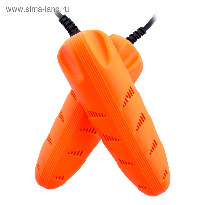 "Сушилка для обуви \""Старт\"" SD04, 12 Вт, арома-пластик, керамика, оранжевая"