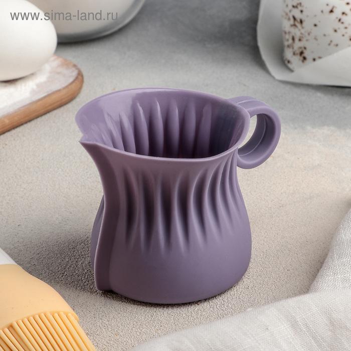 Кувшин для плавления и заливки шоколада «Зефир», 180 мл, d=6 см, цвет МИКС