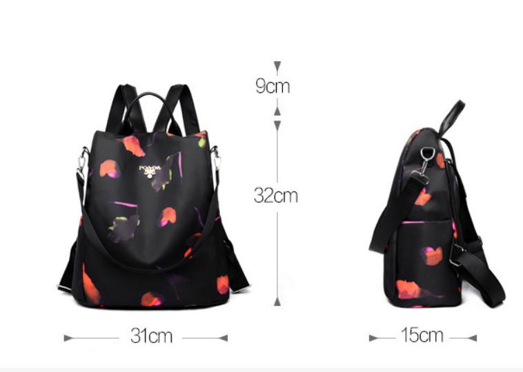 A-425 И сумка, и рюкзак. 2 в 1.
