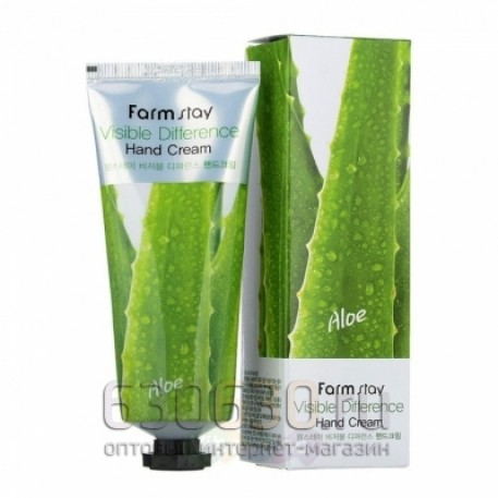 Увлажняющий крем для рук FarmStay Visible Difference Hand Cream Olive 100 g