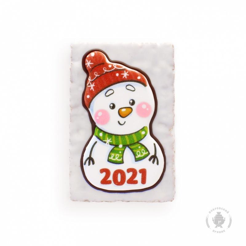 """Снеговик \""""2021\"""" (130 грамм)"""