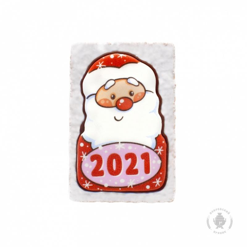 """Дед мороз \""""2021\"""" (овал)"""