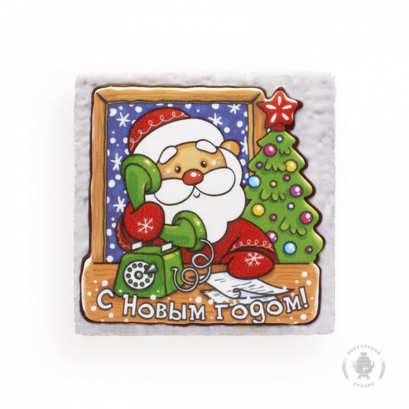 Дед Мороз с телефоном (700гр)