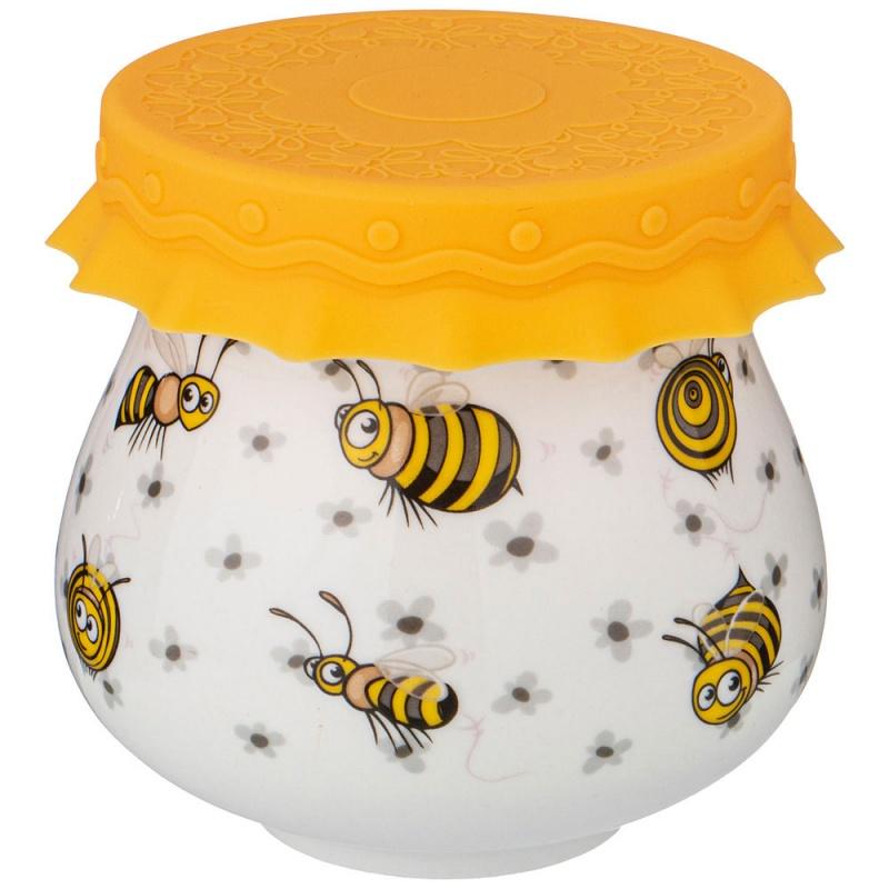 """Lefard 359-677 баночка с силиконовой крышкой \""""пчелы\"""" 300 мл"""