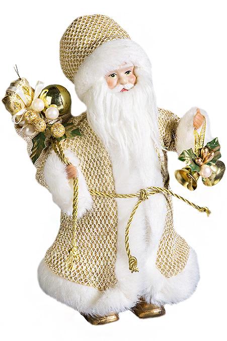 Дед Мороз в бело-золотой шубе SD2067