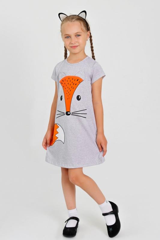 Платье Лисичка детское