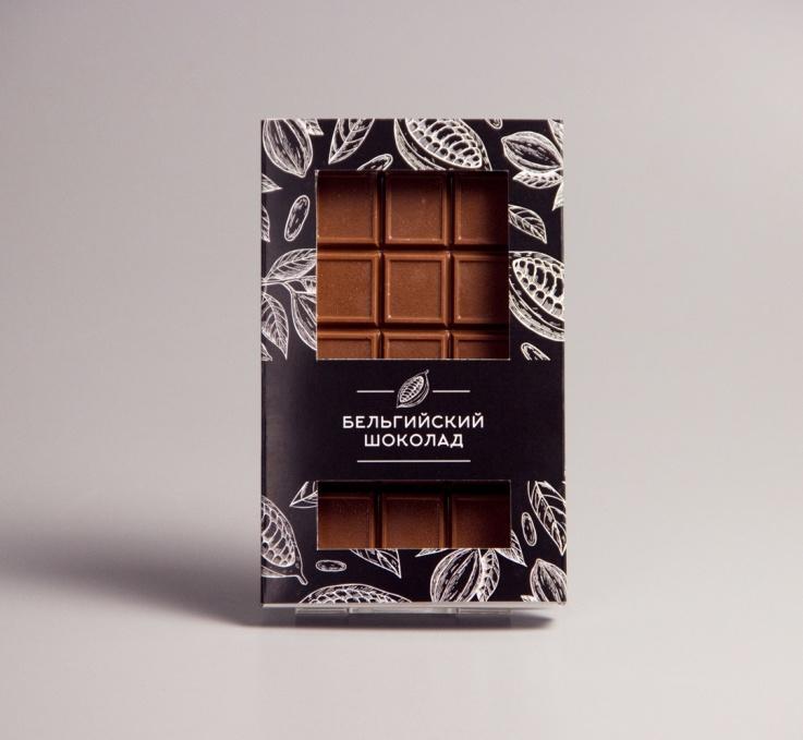 Плитка из молочного шоколада #3