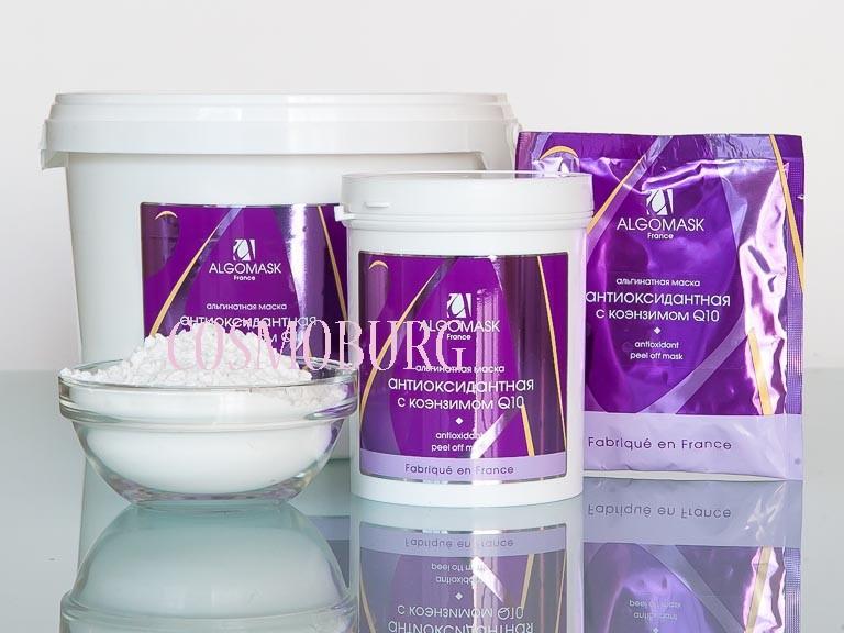 "Альгинатная маска антиоксидантная «Q10 & Hyaluronic Acid» /Antioxidant Alginate Mask ""Q10 & Hyaluronic Пакет 25гр"