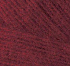 Пряжа для вязания Ализе Angora Real 40 (40% шерсть, 60% акрил) 5х100г/480м цв.057 бордовый