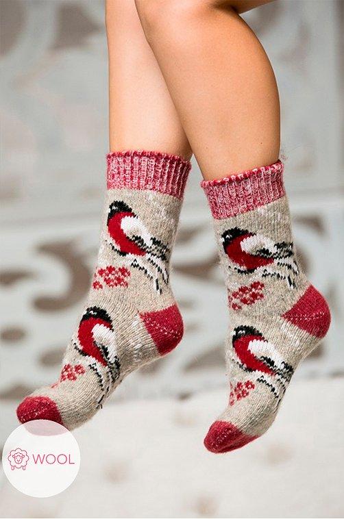Носки женские шерстяные Бабушкины носки Артикул: N6R486