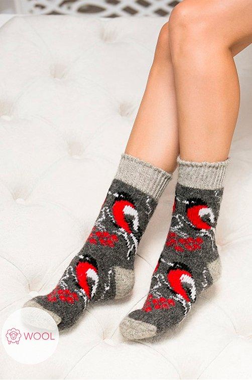 Носки женские шерстяные Бабушкины носки Артикул: N6R484