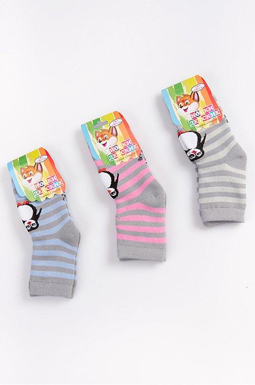 Носочки махровые детские 3пары Топ Топыч Артикул: NT6106