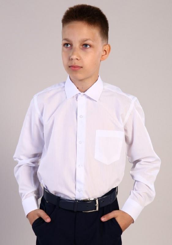 Рубашка Белая классика детская дл. рукав