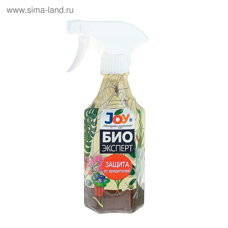 Средство от тли, трипсов и других вредителей JOY Биоэксперт,с распылителем, 400 мл