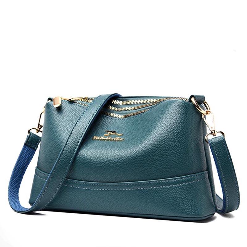 Женская сумка NY-8588-Blue/Green
