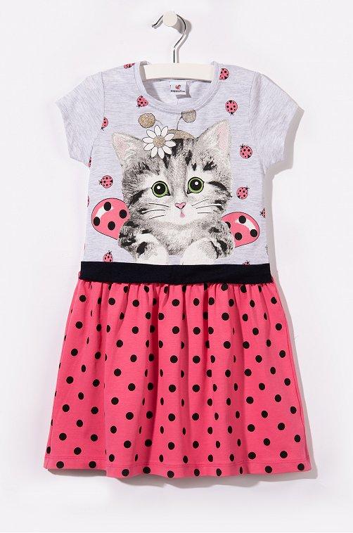 Платье для девочки Happy Fox
