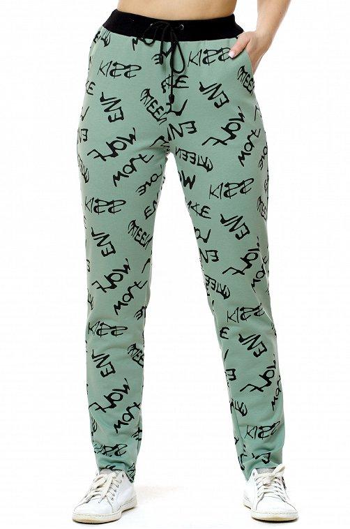 Женские брюки с надписями