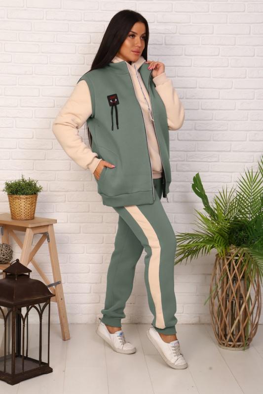 Женский костюм с брюками Турмалин