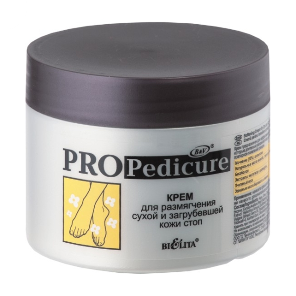 PRO Pedicure Крем для размягчения сухой и загрубевшей кожи стоп 300 мл