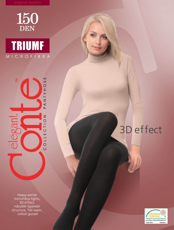 Колготки жен. TRIUMF 150 (р-ры 2-4)