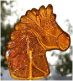 Карамель леденцовая «фигурная» (на деревянной палочке) «Лошадка» 30 г