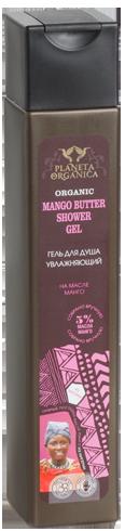"""PO"" гель д/душа увлажняющий mango butter 250 мл"