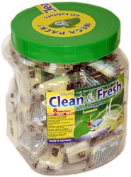 "Таблетки для ПММ ""Clean&Fresh"" 5in1 (mega) 60 штук"